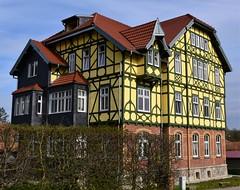 (:Linda:) Tags: germany town thuringia halftimbered hildburghausen andreaskreuz