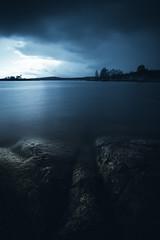 Something long Forgotten.. (Magnus Eriksson75) Tags: ocean longexposure sea nature dark landscape mood moody sweden sverige mystic samyang nx500