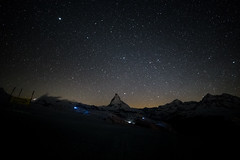 matterhorn at night (www.bolli.us) Tags: switzerland zermatt wallis ch