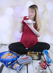 Eating for two! (kellyhackney1) Tags: family food baby love chocolate pregnancy pregnant crisps icecream cherub kellys bump exciting piccy cravings 34weeks babylove babybump eatingfortwo 34weekspregnant littlecherub mypregnancy