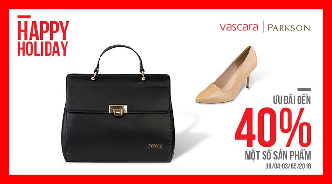 Vascara Parkson - Happy Holiday - Ưu đãi đến 40%