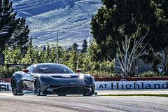 Aston Martin Vulcan at speed (Ian@NZFlickr) Tags: highlands martin nz otago vulcan aston cromwell raceway