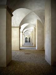 un'altra prospettiva (fotomie2009) Tags: italy architecture italia liguria arches archway portici architettura porticato savona priamar