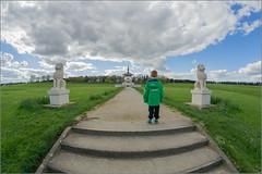 I don't want to go to the Pagoda (mikeyp2000) Tags: sky pagoda path fisheye figure