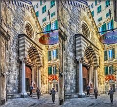 Chiesa di S. Donato 3D (Bruno Zaffoni) Tags: italy stereophotography 3d genova hdr stereoscopy