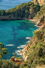 ESPANHA - Costa Brava - Cala Futadera (Infinita Highway!) Tags: trip sea costa praia beach nature spain highway espanha sony natureza viagem catalunya brava cala catalunia infinita futadera