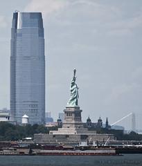 NY Harbor (Alida's Photos) Tags: newyorkcity newjersey sailing explore hudsonriver statueofliberty georgewashingtonbridge ferryride nyharbor