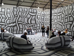 ING Lounge at Art Brussels (CORMA) Tags: brussels art europe belgique bruxelles exhibition exposition artcontemporain 2016 tourtaxis