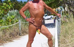 multi exhibitor path (bmicro2000) Tags: microkini minimalswimwear microbeachwear manthong man male tiny bikini torpedo bulge gstring beach rocket missile