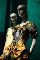 Fairy Tale Fashion (Samicorn) Tags: nyc newyorkcity fashion museum fairytale nikon chelsea mannequins dress manhattan exhibit story fairies snakes charlesperrault fit mcqueen highfashion alexandermcqueen fashioninstitute platosatlantis