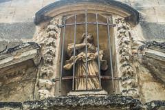 20160423 Provence, France 02571 (R H Kamen) Tags: sculpture france closeup architecture medieval vaucluse perneslesfontaines buildingexterior provencealpesctedazur rhkamen