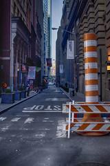 Pine St (PAJ880) Tags: new york nyc light st pine steam pm lowermanhattan