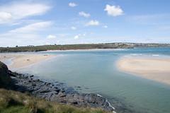 DSC08449 (Elm Park) Tags: sea sun beach water coast seaside sand cornwall cliffs shore hayle