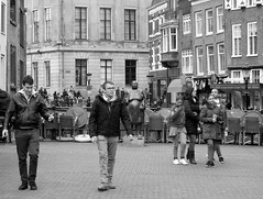 utrecht vismarkt (gerben more) Tags: street netherlands monochrome blackwhite utrecht streetlife streetscene