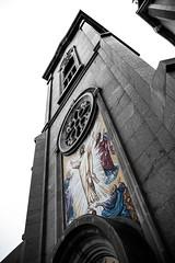 Cathedral of the Transfiguration - Close Angled (john.vuong) Tags: sky ontario pope church john paul catholic cathedral god roman religion jesus landmark slovakia byzantine cananda markham transfiguration carillon ourdoors religulous