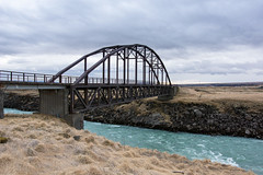 A bridge is not a high place... (OR_U) Tags: bridge sky clouds river landscape iceland rust iron decay oru derelict marillion 2016 jrsrbr