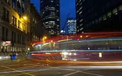 London night trails (Westhamwolf) Tags: new city eve bus london night trails years ledenhall