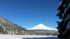 20160101_114043 (mjfmjfmjf) Tags: snow oregon blurry trilliumlake 2016 snoeshoe