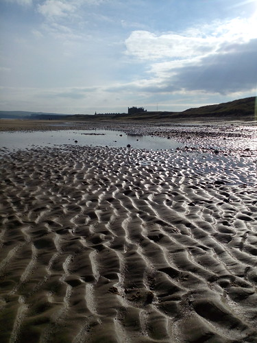Entre Redcar et Marske-by-the-sea, en Angleterre