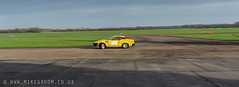 Wide & Sideways (Mike Groom Photography) Tags: test heritage classic car speed private landscape nikon track angle rally wide racing triumph bicester d600 sigma35 tr7 22x8crop