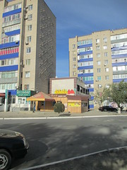 Walikhanov st. (bibitalin) Tags: kazakhstan kz aktobe казахстан aktyubinsk aqtobe казакстан ақтөбе актюбинск актобе aktubinsk aktiubinsk актюбе