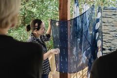 vic's amazing work () Tags: indigo craft melbourne workshop dye dyeing shibori sonya7  sel35f28z