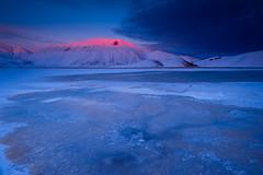 Wonder Castelluccio Stage IV (luca_pictures) Tags: tramonto blu cielo neve rosso freddo bellezza ghiaccio silenzio vettore tranquillit castellucciodinorcia parconazionaledeimontisibillini piangrande