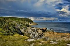 Rugged Shoreline (Nancy Hawkins) Tags: ocean copyright newfoundland photography coast rocky atlantic east hills trail nancy hawkins