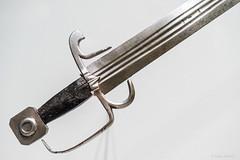 Fussknecht-Schwert / Sword, oberitalienisch / Upper Italy, c. 1500 (Anita Pravits) Tags: vienna wien exhibition sword khm ausstellung kunsthistorischesmuseum schwert