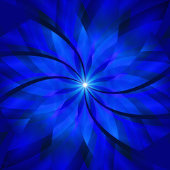 Eternal _Solace_01 (photoshopflair) Tags: blue light beautiful spiral god spinart spin twirl eternity eternal solace