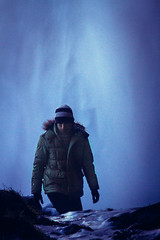 100/365 (Sean Kobi Sandoval) Tags: wet waterfall iceland dangerous falls wanderlust adventure icy wandering slippery seljalandsfoss ghostcat thrillseeker
