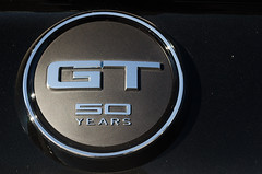 GT 50 Years (GmanViz) Tags: color detail ford car nikon automobile badge mustang gt 2015 gmanviz d7000