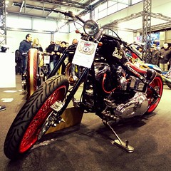 The Godfather. Motor Bike Expo 2016. (unaerica) Tags: bike expo motorbike motor custom godfather