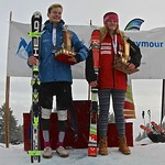 Enquist 2016 Mt. Seymour - Jude Tear (Grouse Tyee) & Maja Woolley (WMSC) Overall Enquist Trophy Winners PHOTO CREDIT: Hans Forssander