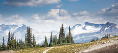 Whistler Mountain View (memories-in-motion) Tags: travel trees summer panorama mountain snow canada nature canon landscape whistler photography fotografie view iso400 britishcolumbia natur glacier berge outlook aussicht tamron landschaft bume kanada f50 70mm 2470 1500sec 5dmarkiii