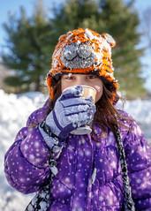 1/24/16 Mmmm, Hot Cocoa (Karol A Olson) Tags: portrait snow maryland columbia jonas snowzilla 116picturesin2016 blizzard2016 97aportrait