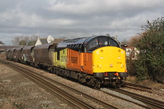 37116 @ Patchway 04/02/2016 [4B20] (mattydubbz) Tags: training empty rail class barry driver 37 coal freight hha hoppers 0910 colas patchway 37116 4b20