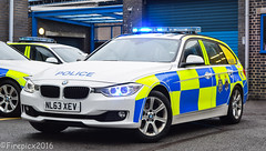 NL63XEV (firepicx) Tags: uk car estate durham traffic cleveland police bmw operations british roads unit policing 330d specilist xdrive nl63xev