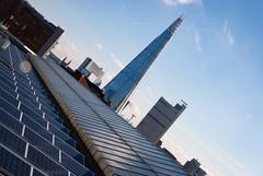 Shard (from Tate Modern) (jonnydredge) Tags: blue london skyline architecture nikon tatemodern shard