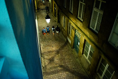 20150808-81_St Malo_X marks the spot (gary.hadden) Tags: street evening alley streetscene x fromabove saintmalo stmalo xmarksthespot