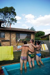 A Very Aussie Christmas (andrickthistlebottom) Tags: pool swimming australia serenity canberra act