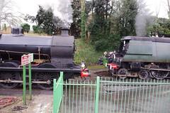 IMGP8398 (Steve Guess) Tags: uk england train engine railway loco hampshire steam gb locomotive bluebell alton westcountry 060 ropley alresford hants wadebridge fourmarks 462 bulleid medstead qclass 30541 34007
