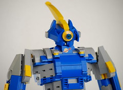 Eagle Mk. 1 Detail (Wafna-204) Tags: robot lego bricks mecha mech afol legospace legophotography wafna204
