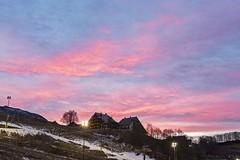 Sunset @ Prato Nevoso Ski