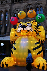 "Year of the Tiger lantern ""Four Seasons Peaceful Safe"" - Sydney Chinese New Year 2016 (neeravbhatt) Tags: new four seasons tiger year chinese sydney peaceful safe lantern 2016"