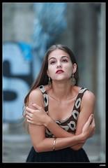 nEO_IMG_DP1U6671 (c0466art) Tags: africa portrait black west portugal girl beautiful canon pose island blood model action gorgeous ruin style skirt professional short marta charming elegant sao  tome 1dx c0466art