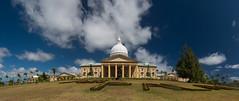 Melekeok Capital (Warriorwriter) Tags: landscape island day cloudy capital tropical government legislature palau pw oceania babeldaob melekeok