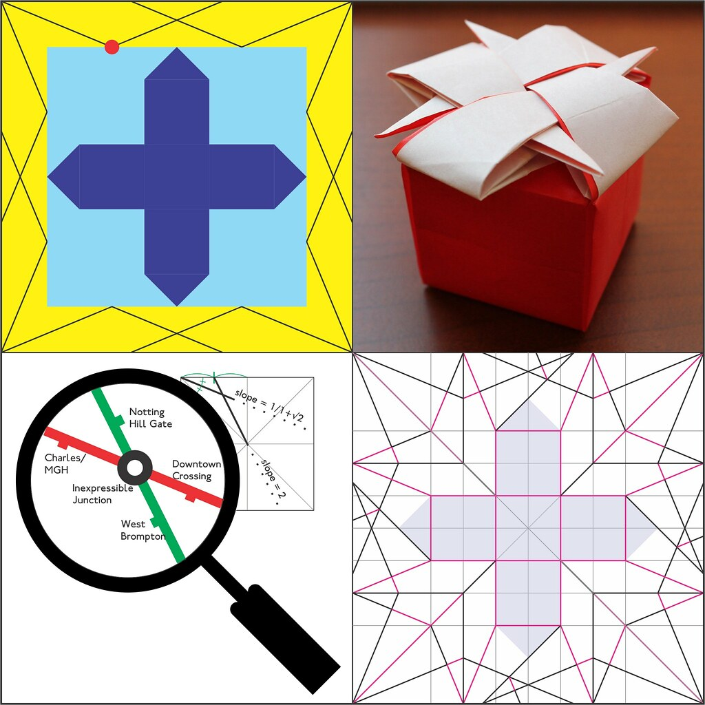 The Worlds Most Recently Posted Photos Of Diagrams And Origami Star Wars Crease Patterns Starwarigami Inexpressible Cube Oschene Tags Box Knot