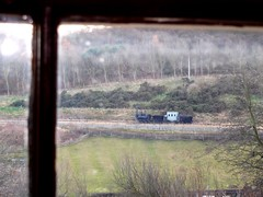 View from the Farmhouse 1820s Beamish Museum (floato) Tags: uk england house colour history window glass beautiful museum farmhouse train landscape nice superb time britain farm smoke north railway steam beamish east professional attractive expert carriages waggonway 1820s pockerley atmoshpheric floato pleaseaskifyouwanttouse industrialagriculturl beamiselsie