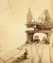 Roker Pier under construction 24 August 1885 (Sunderland Museum) Tags: port pier sunderland roker